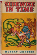 Books:Science Fiction & Fantasy, Murray Leinster. Sidewise In Time. Shasta, 1950. First edition, first printing. Mild rubbing to boards with a leanin...