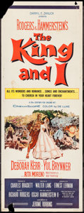 """Movie Posters:Musical, The King and I (20th Century Fox, R-1961). Insert (14"""" X 36""""). Musical.. ..."""