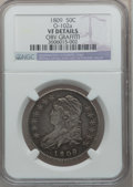 Bust Half Dollars: , 1809 50C Normal Edge -- Obv Graffiti -- NGC Details. VF. O-102a.NGC Census: (14/696). PCGS Population (20/558). Mintage: ...