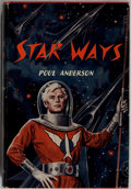 Books:Science Fiction & Fantasy, Poul Anderson. SIGNED. Star Ways. Avalon, 1956. Firstedition, first printing. Signed twice by the author. M...