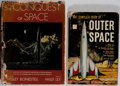 Books:Science Fiction & Fantasy, Willy Ley. SIGNED. Two Books About Space, One Signed. The Conquest of Space signed by Ley on the title page. Signifi... (Total: 2 Items)