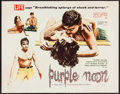"""Movie Posters:Crime, Purple Noon (Times, 1961). Half Sheet (22"""" X 28""""). Crime.. ..."""