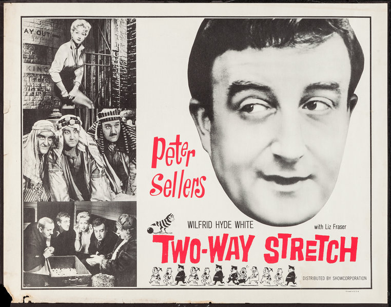 "Two-Way Stretch (Showcorporation, 1961). Half Sheet (22"" X 28 ..."