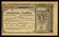 Miscellaneous:Other, Sherburne, NY- Postal Note Type IV 20¢ June 25, 1888. ...