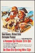 """Movie Posters:Adventure, The Man Who Would Be King (Columbia, 1975). Belgian (14"""" X 21.25"""").Adventure.. ..."""