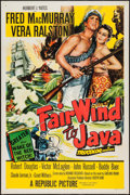 "Movie Posters:Adventure, Fair Wind to Java & Others Lot (Republic, 1953). One Sheets (3)(27"" X 41"") Regular & Style B. Adventure.. ... (Total: 3 Items)"
