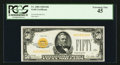 Fr. 2404 $50 1928 Gold Certificate. PCGS Extremely Fine 45