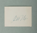 Autographs:U.S. Presidents, Richard M. Nixon, 37th President of the United States. ClippedSignature. Near fine....