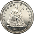 Proof Seated Quarters, 1883 25C PR66 Cameo NGC....