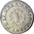 Colonials, 1783 SHLNG Chalmers Shilling, Short Worm -- Cleaning -- PCGSGenuine. XF Details. Breen-1011, W-...