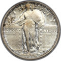 Standing Liberty Quarters, 1916 25C PCGS Genuine....