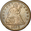 Seated Quarters, 1852-O 25C -- Improperly Cleaned -- NGC Details. Unc....