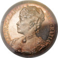 Coins of Hawaii, 1891 $1 Queen Liliuokalani Pattern Silver Dollar PR63 Deep CameoPCGS. Medcalf 2MH-1....