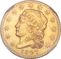 Early Quarter Eagles, 1827 $2 1/2 -- Improperly Cleaned -- NGC Details. AU. BD-1, R.5....