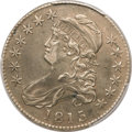 Bust Half Dollars, 1815/2 50C -- Cleaning -- PCGS Genuine. XF Details. O-101, R.2....