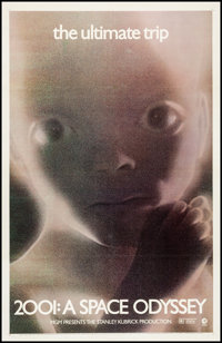 """2001: A Space Odyssey (MGM, R-1971). One Sheet (27"""" X 41""""). Science Fiction"""