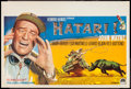 "Movie Posters:Adventure, Hatari! (Paramount, 1962). Belgian (14.25"" X 21.5""). Adventure....."
