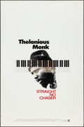 "Movie Posters:Documentary, Thelonious Monk: Straight, No Chaser (Warner Brothers, 1988). One Sheet (27"" X 40""). Documentary.. ..."