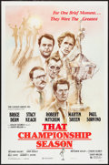 "Movie Posters:Sports, That Championship Season (Cannon, 1982). One Sheet (27"" X 41""). Sports.. ..."