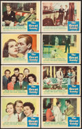 """Movie Posters:Drama, The Great Gatsby (Paramount, 1949). Lobby Card Set of 8 (11"""" X14""""). Drama.. ... (Total: 8 Items)"""
