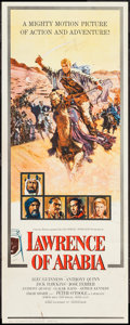 "Movie Posters:Academy Award Winners, Lawrence of Arabia (Columbia, 1962). Insert (14"" X 36"") RoadshowStyle. Academy Award Winners.. ..."