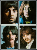 "Movie Posters:Rock and Roll, Beatles: The White Album (Apple Records, 1968). Photo Set of 4 (8""X 10""). Rock and Roll.. ... (Total: 4 Items)"