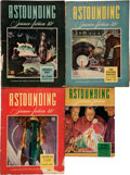 Pulps:Science Fiction, Astounding Stories Group (Street & Smith, 1943) Condition:Average VG-.... (Total: 9 Comic Books)