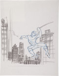 Original Comic Art:Covers, Ron Frenz Webslinger Cover Preliminary Sketch Original Art(BenBella Books, 2007)....