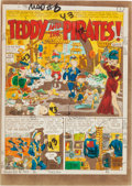 """Memorabilia:Comic-Related, Mad #6 """"Teddy and the Pirates!"""" Complete Story Silverprint Proof (EC, 1953)... (Total: 8 Items)"""