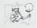 Original Comic Art:Sketches, Travis Charest Fantasy Sketch Original Art (undated)....