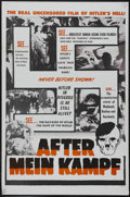 "Movie Posters:Documentary, After Mein Kampf (Joseph Brenner Associates, 1961). One Sheet (27"" X 41""). Documentary...."
