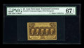 Fractional Currency:First Issue, Fr. 1279 25¢ First Issue PMG Superb Gem Unc 67 EPQ....