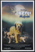 "Movie Posters:Adventure, Benji the Hunted (Buena Vista, 1987). One Sheet (27"" X 41"").Children's. Starring Benji, Joe Camp, Mike Francis, Nancy Franc..."