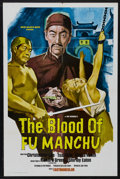 "Movie Posters:Adventure, The Blood of Fu Manchu (MGM, 1969). One Sheet (27"" X 41""). Horror.Starring Christopher Lee, Götz George, Richard Greene and..."