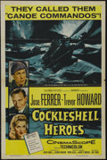 "Movie Posters:War, Cockleshell Heroes (Columbia, 1956). One Sheet (27"" X 41""). War.Starring José Ferrer, Trevor Howard, Dora Bryan and Victor ..."