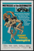 "Movie Posters:Horror, Count Yorga, Vampire (American International, 1970). One Sheet (27"" X 41""). Horror. Starring Robert Quarry, Roger Perry, Mic..."
