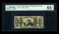 Fractional Currency:Third Issue, Fr. 1347 50c Third Issue Justice PMG Choice Uncirculated 64 EPQ....