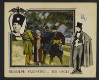 "The Eagle (United Artists, 1925). Lobby Card (11"" X 14""). Drama. Starring Rudolph Valentino, Vilma Banky, Loui..."