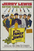 "Movie Posters:Comedy, The Family Jewels (Paramount, 1965). One Sheet (27"" X 41""). Comedy.Starring Jerry Lewis, Sebastian Cabot, Donna Butterworth..."