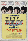 "Movie Posters:Musical, Help (United Artists, 1965). One Sheet (27"" X 41""). In their second collaboration with director Richard Lester, the Beatles ..."