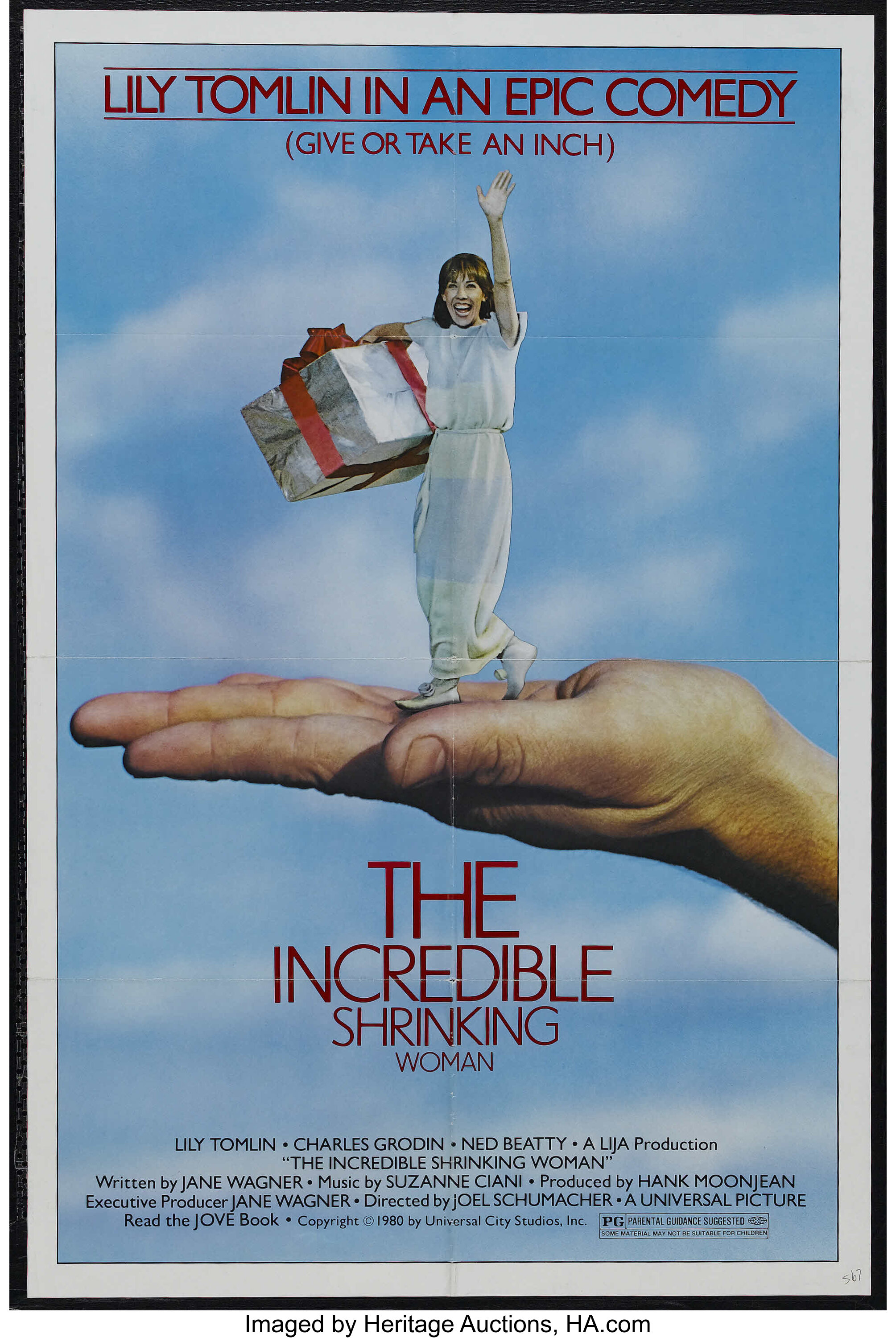 "The Incredible Shrinking Woman (Universal, 1981). One Sheet (27"" X 
