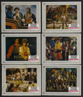 "Movie Posters:Adventure, King's Pirate (Universal, 1967). Lobby Cards (6) (11"" X 14"").Adventure. Starring Doug McClure, Jill St. John, Guy Stockwell...(Total: 6 Items)"