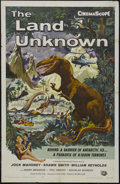 """Movie Posters:Science Fiction, The Land Unknown (Universal, 1957). One Sheet (27"""" X 41"""").Adventure. Starring Jock Mahoney, Shirley Patterson, WilliamReyn..."""
