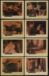 """The Left Handed Gun (Warner Brothers, 1958). Lobby Card Set of 8 (11"""" X 14""""). Western. Starring Paul Newman, L..."""