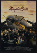 "Movie Posters:War, Memphis Belle (Warner Brothers, 1990). One Sheet (27"" X 41""). WarDrama. Matthew Modine and Eric Stoltz star in this loosely..."