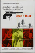 "Movie Posters:Crime, Once a Thief (MGM, 1965). One Sheet (27"" X 41""). Crime...."