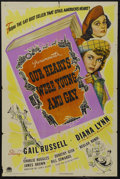 """Movie Posters:Comedy, Our Hearts Were Young and Gay (Paramount, 1944). One Sheet (27"""" X 41""""). Comedy. Starring Gail Russell, Diana Lynn, Charlie R..."""