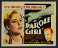 "Movie Posters:Crime, Parole Girl (Columbia, 1933). Title Lobby Card (11"" X 14""). Crime.Starring Ralph Bellamy, Mae Clarke, Marie Prevost and Hal..."