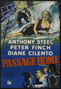 """Movie Posters:Drama, Passage Home (Rank, 1955). British One Sheet (27"""" X 40""""). Drama. Starring Anthony Steel, Peter Finch, Diane Cilento and Patr..."""