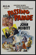 "Movie Posters:Documentary, Passing Parade (MGM, 1955). One Sheet (27"" X 41""). Documentary. Narrated by John Nesbitt. This is a stock poster for this fa..."